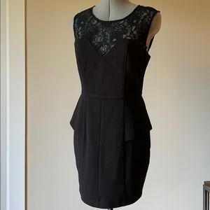 Bar lll black sleeveless dress Size M